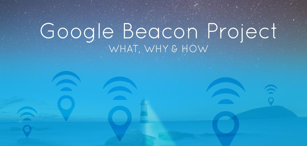 "Header says ""Google Beacon project"""