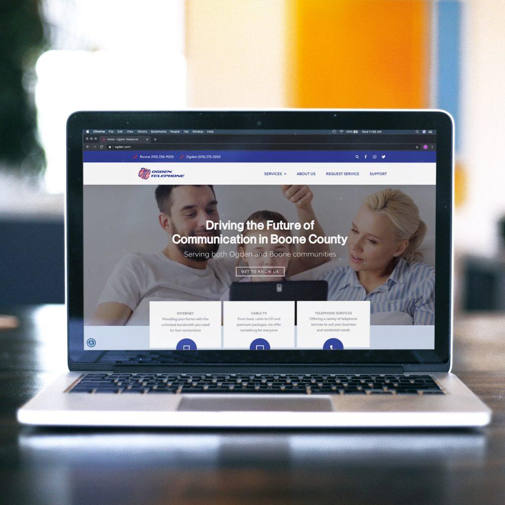 Ogden Telephone Website