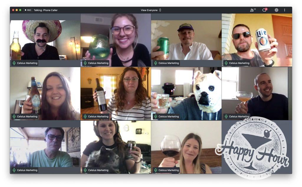 Celsius Virtual Happy Hour