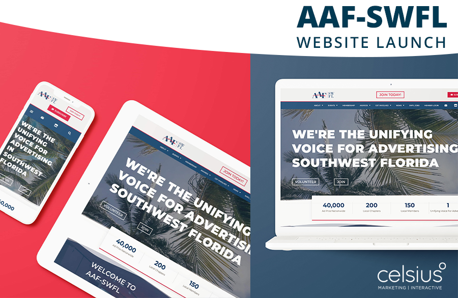 AAF-SWFL website launch
