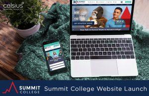Summit College Website Launch