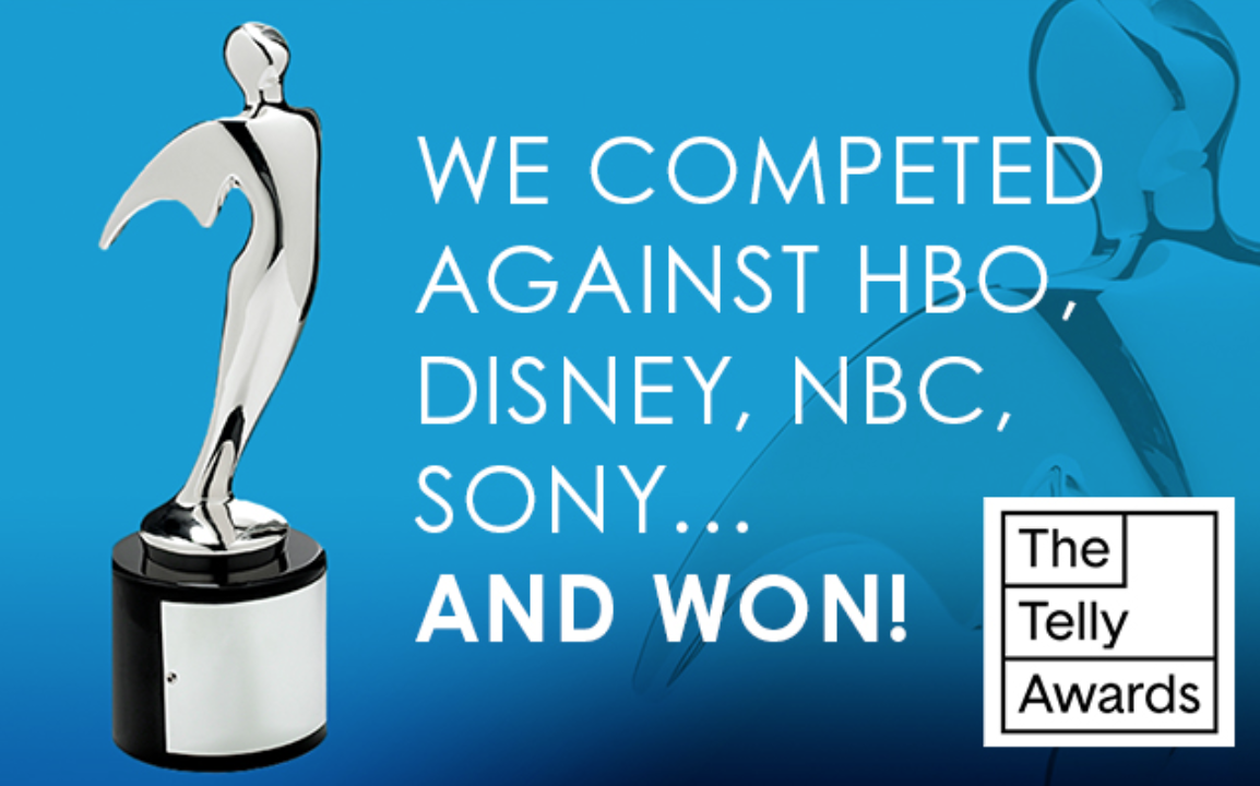 We competed against hbo disney nbc sony and won