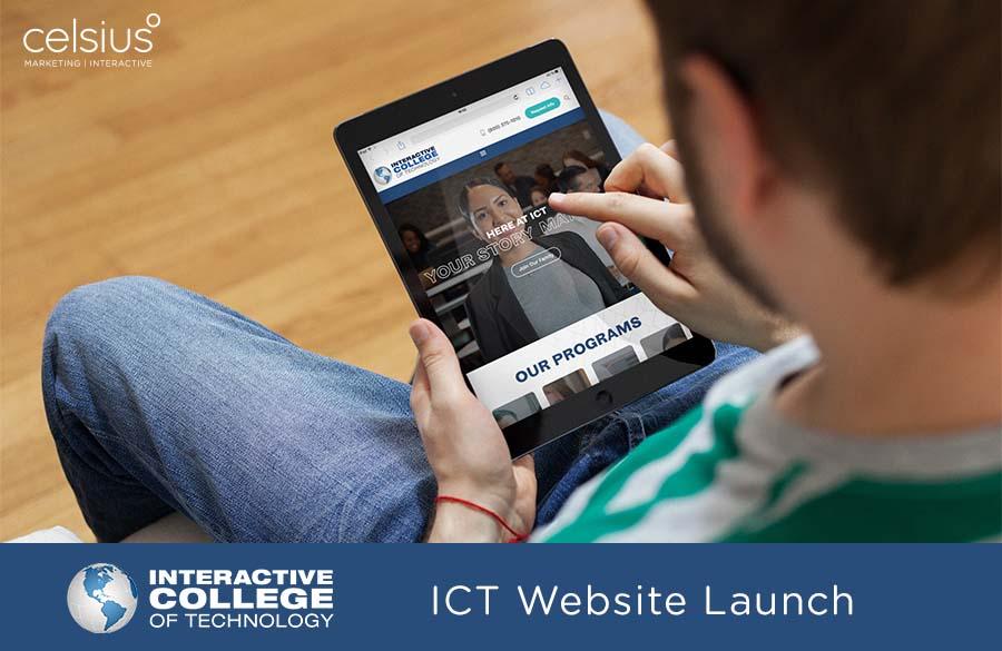 ICT Website launch