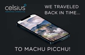 we traveled back in time... to machu picchu